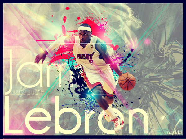 lebron james NBA project.