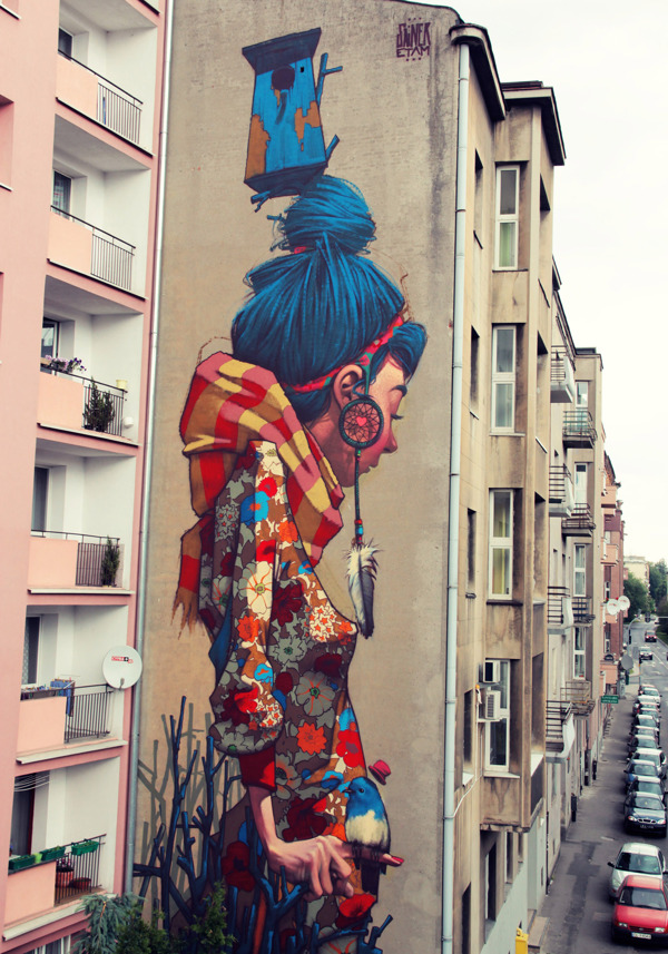 cbd894ddeb430568c283f5ea028c369a1 Outstanding Street Graffiti by Przemek Blejzyk