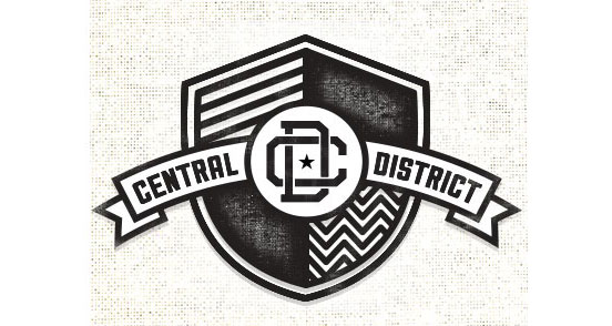 central district l1 30 Creative Ribbon Logo Designs