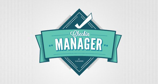 checkin manager l1 30 Creative Ribbon Logo Designs