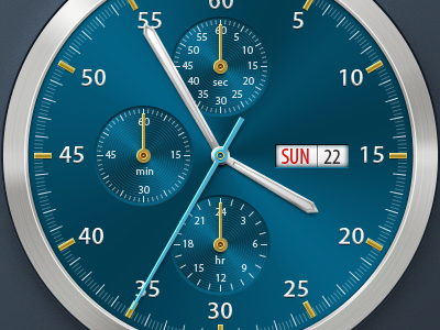 Chronometer by Maksim Petrushin