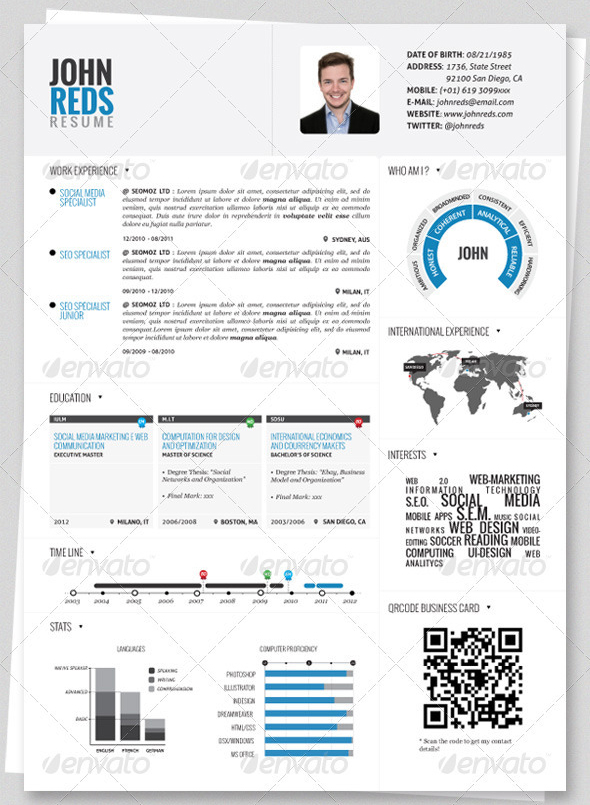 Clean-Infographic-Resume