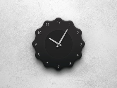 Clock by Seeger Mattijs