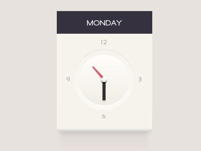 Clock by Martin Berbesson