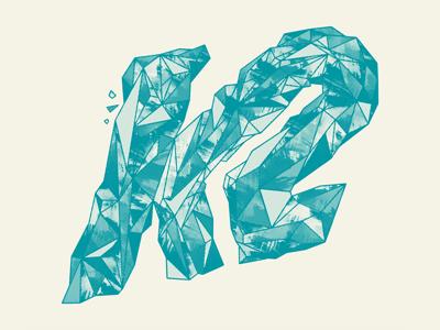 K2 Skis - Crystalized Logo by Brett Stenson