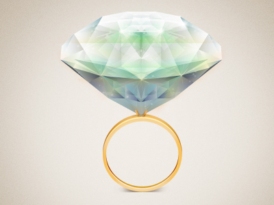 Diamond Ring by Ilie Ciorba