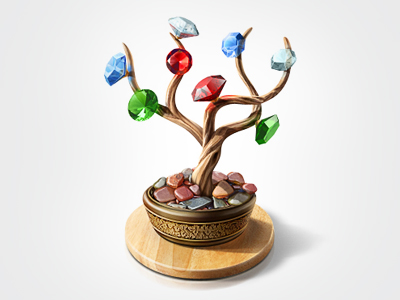 diamond tree1 Inspiration Mix: Gems, Jewels, Crystals and Diamonds