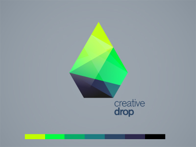drop dribbble1 Inspiration Mix: Gems, Jewels, Crystals and Diamonds