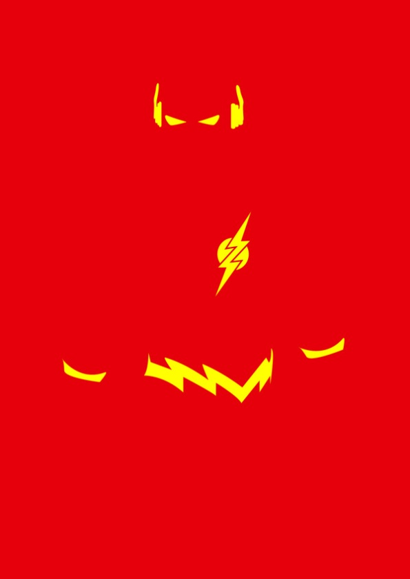 Minimalist Super Hero Posters by Michael Turner