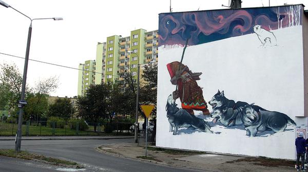 fe8e649528c12703ebe3cb596e1b2b061 Outstanding Street Graffiti by Przemek Blejzyk