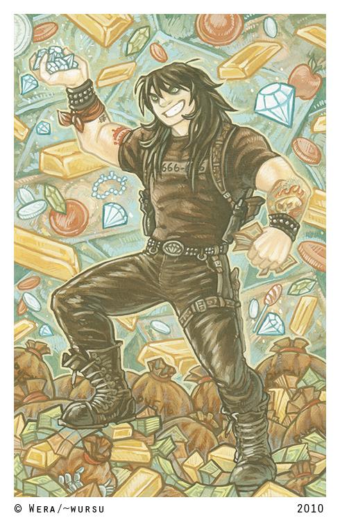 Fistful of Diamonds by Wursu