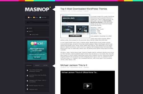 free website templates 301 30 Free PSD Web Design Templates