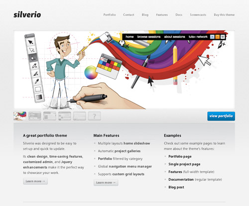 free website templates 61 30 Free PSD Web Design Templates