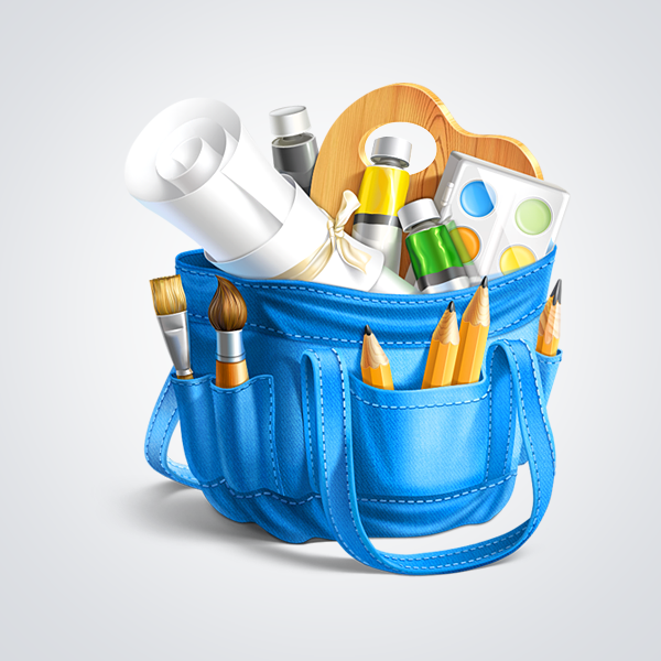 Artist Bag by Ramotion