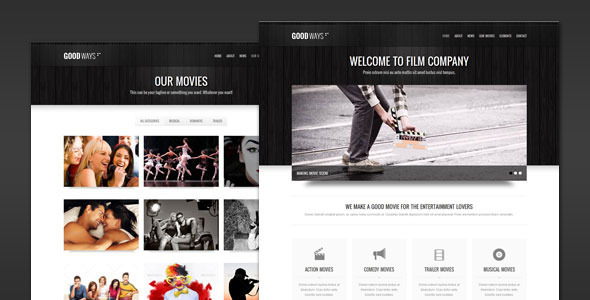 goodway wp preview   large preview1 20 Premium Entertainment Wordpress Themes