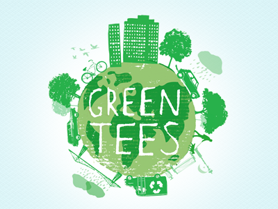 Green Tees by Natalie Larkin