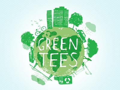 Green Tees by Natalie Larkin