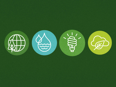 green icons1 Inspiration Mix: Eco and Environmental Designs