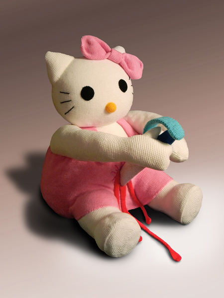 hallokitty1 Disturbing and Violent Plush Toys by Patricia Waller
