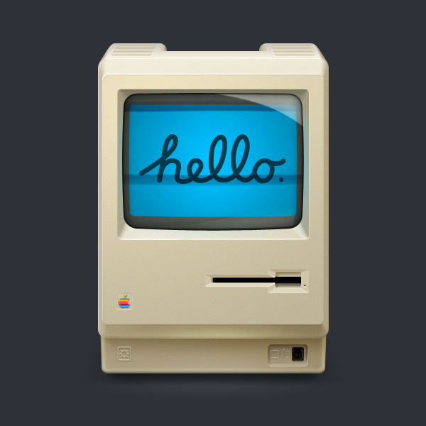 hello20mac20512px1 40 Highly Detailed Mac Icons