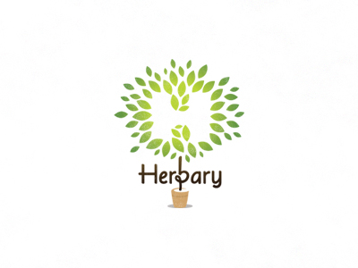 herbarylogoancitisdribbble1 Inspiration Mix: Eco and Environmental Designs