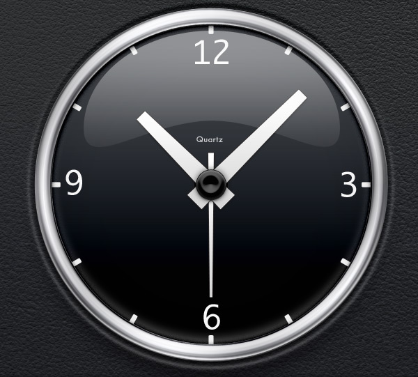 iclock theme 35 Inspirational Clock & Watch Designs