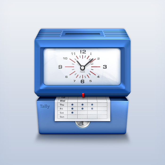 Punchclock Icon
