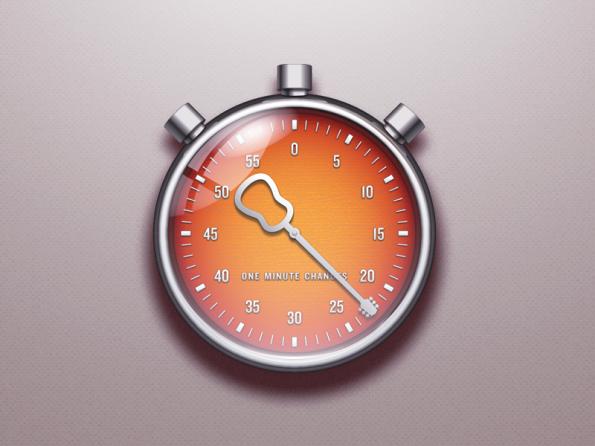 Chronometer app icon by Piet van Dongen