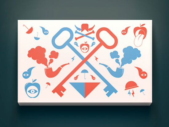 Deluxe Royale Business Card Front by Desmond Arsan