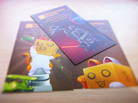 Puss In Box Cards by Petshopbox