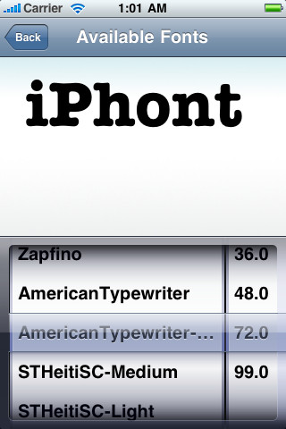 iphont Top 5 Smartphone Apps For Typographers