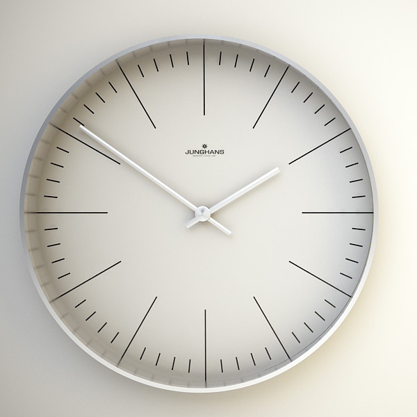 Junghans Max Bill Clock by Ray Faustino