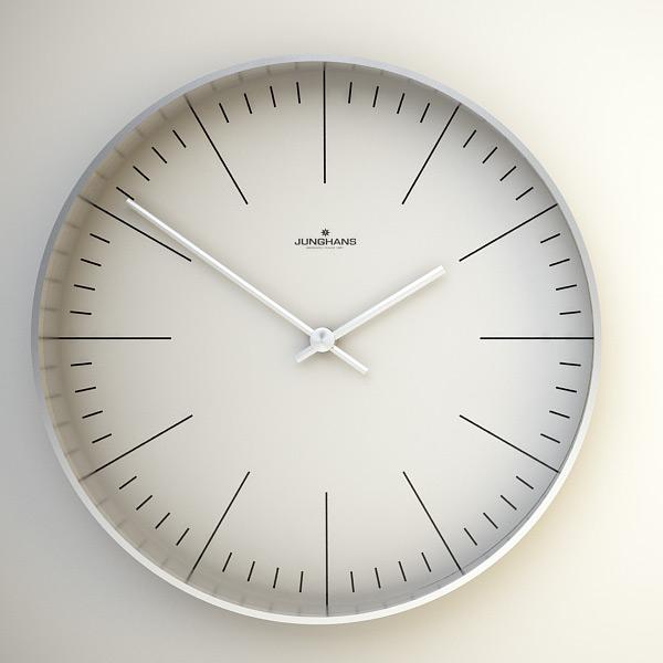 Junghans Max Bill Clock by Ray Faustino