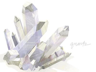 Lindsaynohl Quartzcrystal Dribbble by Lindsay Nohl