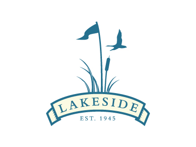 logo lakeside1 25 Cleverly Designed Golf Logos