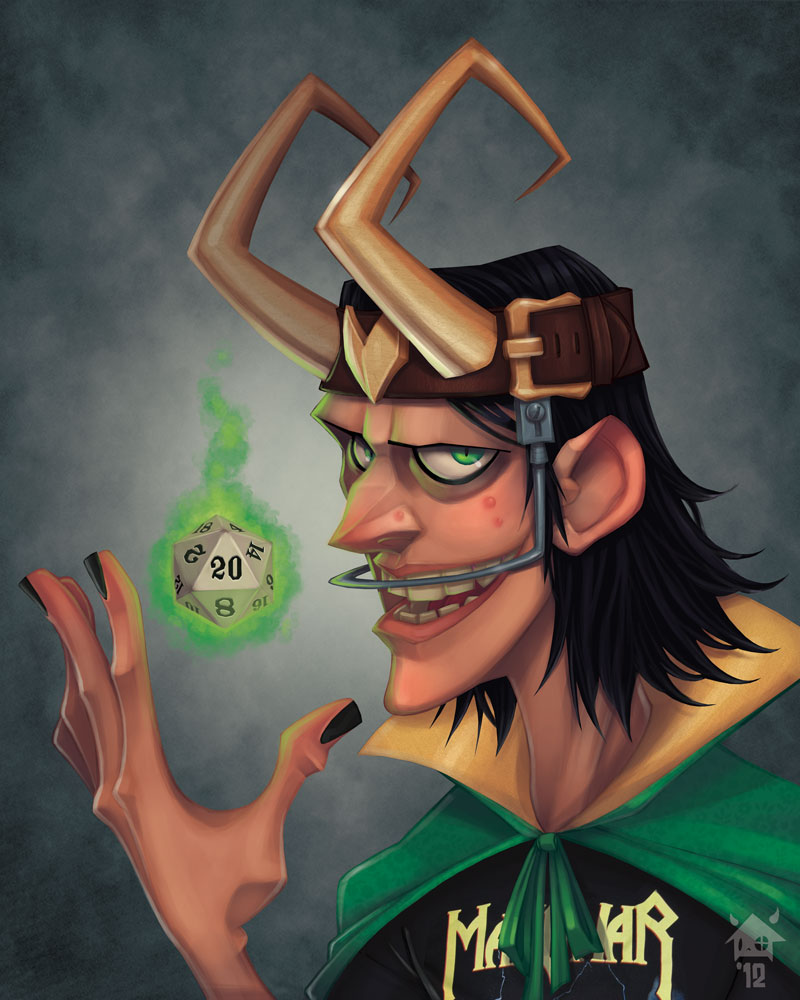loki  yearbook photo by ghosthause d5hlnky1 Super Villains High School Yearbook Photos