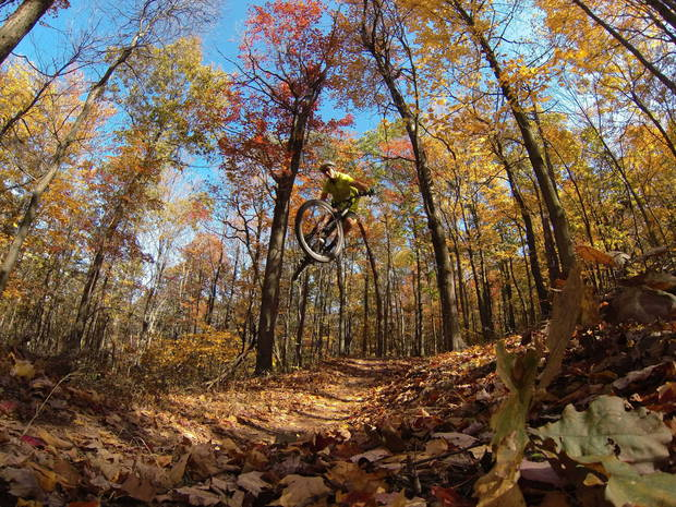 Trail Airtime by Brian Lopes