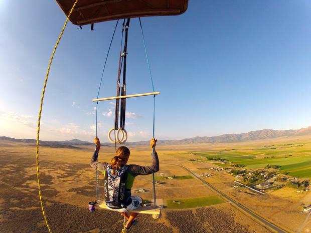 Neil Amonson hanging out at 10,000 feet by Neil Amonson
