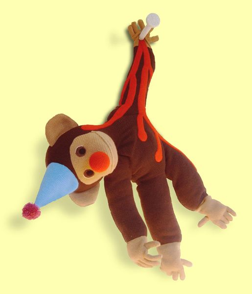 monkey1 Disturbing and Violent Plush Toys by Patricia Waller