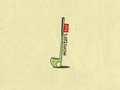 Monsters Golf by Den Parukedonos