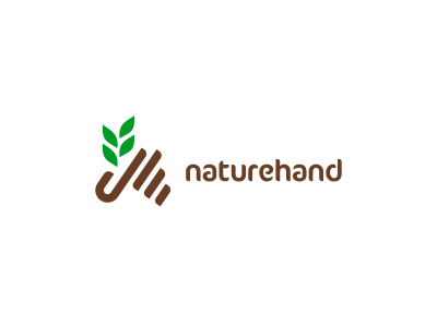 Naturehand Logo Design by Dalius Stuoka