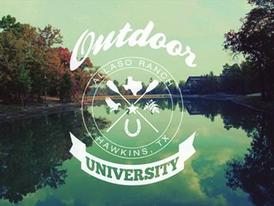Outdoor University concept by Brenton Little