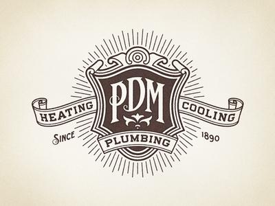 pdm one color 6 1x1 30 Creative Ribbon Logo Designs