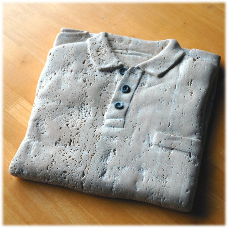 polo shirts by jiyuseki2 Groundbreaking Stone Sculptures by Hirotoshi Itoh