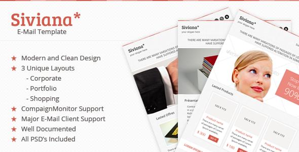 Siviana Multipurpose Email Template