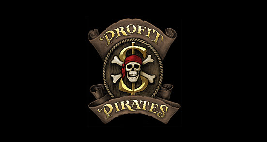 profitpirates l1 30 Creative Ribbon Logo Designs