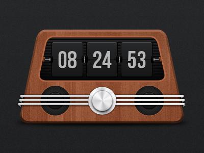 Clock radio by Ionut Zamfir
