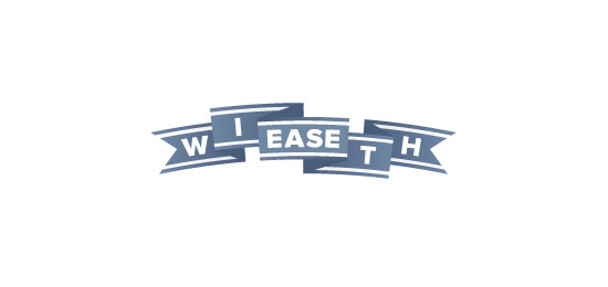 ribbon logos scroll with ease1 30 Creative Ribbon Logo Designs