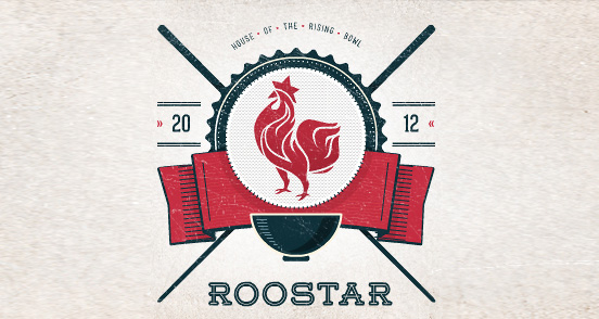 roostar l1 30 Creative Ribbon Logo Designs