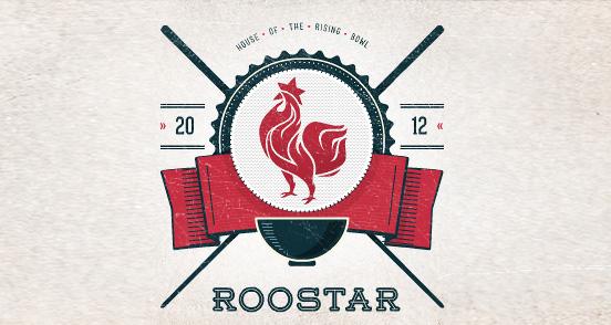 roostar l1 30 Creative Ribbon Logo Designs